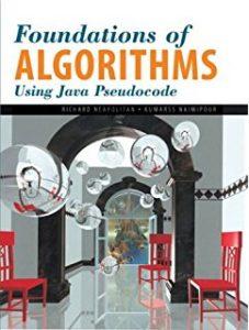 ترجمه فصولی از کتاب طراحی الگوریتم Foundations of Algorithms Using C++ Pseudocode, به فارسی