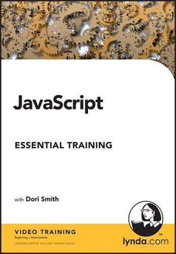 خرید پستی فیلم آموزشی زبان برنامه نویسی جاوا اسکریپت Lynda.com JavaScript Essential Training 2007