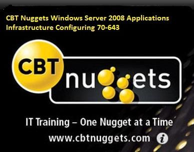 فیلم آموزشی CBT Nuggets Windows Server 2008 Applications Infrastructure Configuring