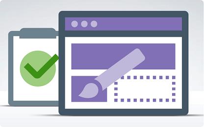 کتاب روشهای طراحی کارآمد صفحه اصلی وب سایت