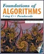دانلود ترجمه فصولی از کتاب طراحی الگوریتم Foundations of Algorithms Using C++ Pseudocode, Third Edition به زبان فارسی