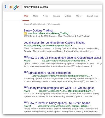 الگوریتم های موتور های جستجو
