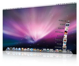 سيستم عامل مکينتاش قابل نصب روي پي سي Mac OS X Leopard 10.6.3 for Intel AMD