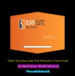 امنیت برنامه های تحت وب, نرم افزار Burp Suite